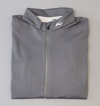KJUS MEN DIAMOND FLEECE JACKET GREY/WHITE