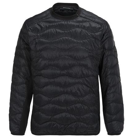 PeakPerformance Helium Hybrid Sweater Black