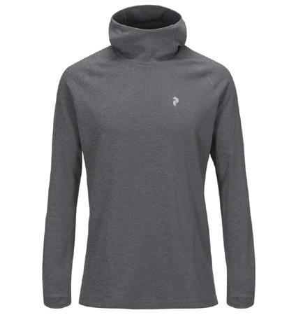 PeakPerformance Power Hood Grey Mel