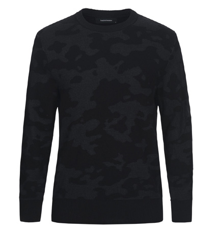 2018 PeakPerformance Fusion Camo Crew Black