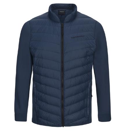 2018 PeakPerformance Frost Hybrid Jacket Decent Blue