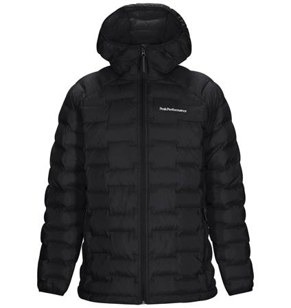 PeakPerformance Argon Hood Jacket Black