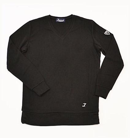Tranvi TRCTB-07 V-Neck Pullover Black