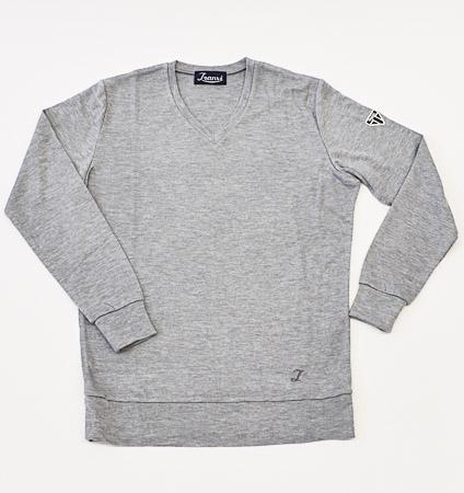 Tranvi TRCTB-07 V-Neck Pullover Gray