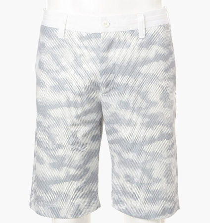 BRIEFING CAMO MESH SHORT PANTS WHITE