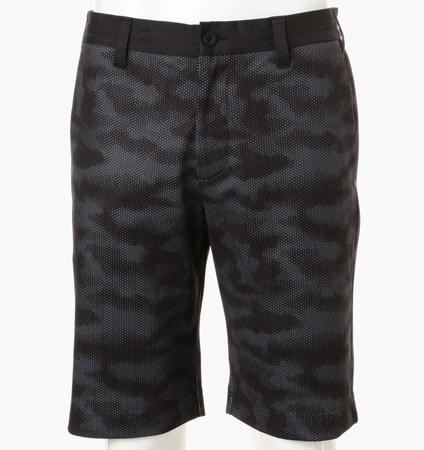 BRIEFING CAMO MESH SHORT PANTS BLACK