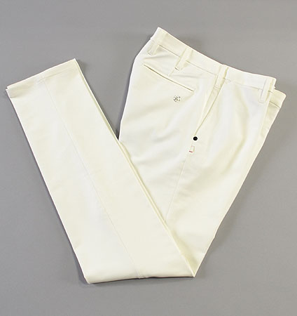 BRIEFING BASIC LONG PANTS WHITE