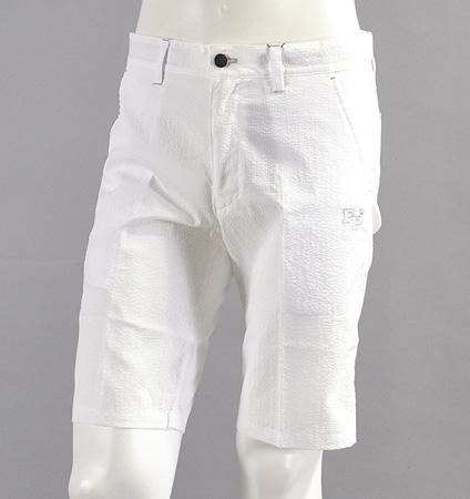 Fairy Powder FP17-1202 Seersucker Shorts White