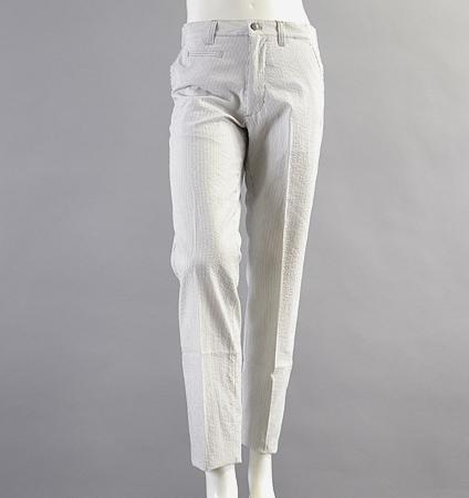 Fairy Powder FP18-1201 Seersucker Pants  Beige
