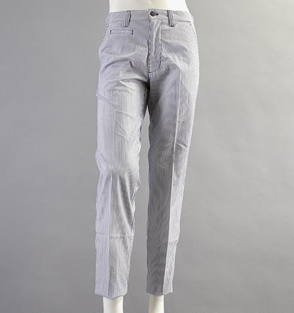 Fairy Powder FP18-1201 Seersucker Pants  Navy