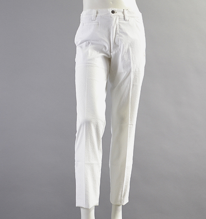 Fairy Powder FP18-1201 Seersucker Pants  White