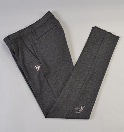 Fairy Powder FP18-5201 Pinhead Slim Pants Black