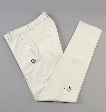 Fairy Powder FP19-1200 Paircool Pinhead Slim Pants White
