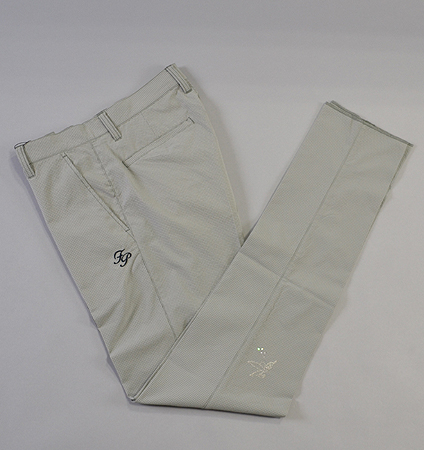 Fairy Powder FP19-1201 Check Seersucker Pants Gray