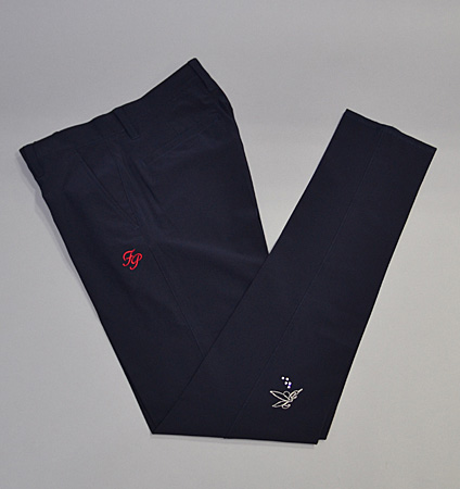 Fairy Powder FP19-1202 Stretch Pants Navy