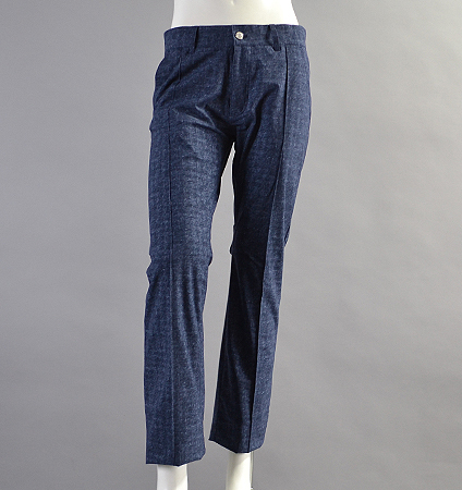 2018 SubSeventy AS20050 Super Stretch Emboss Pants Navy