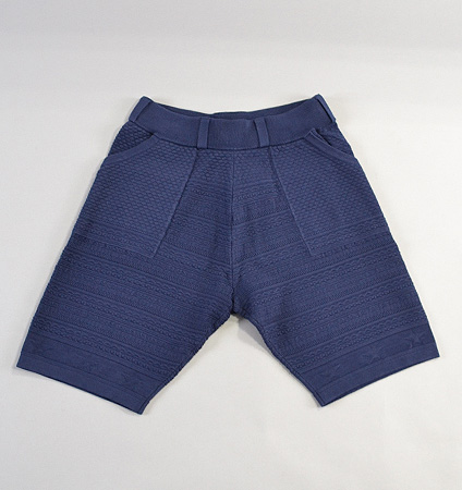 2018 SubSeventy AS21001 Star Knit Shorts Navy