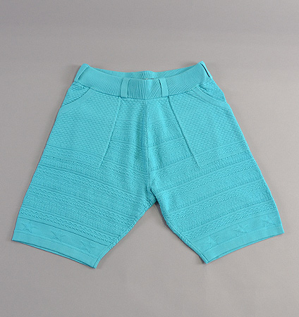 2018 SubSeventy AS21001 Star Knit Shorts Blue