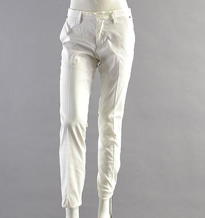 2018 BRIEFING BASIC LONG PANTS WHITE
