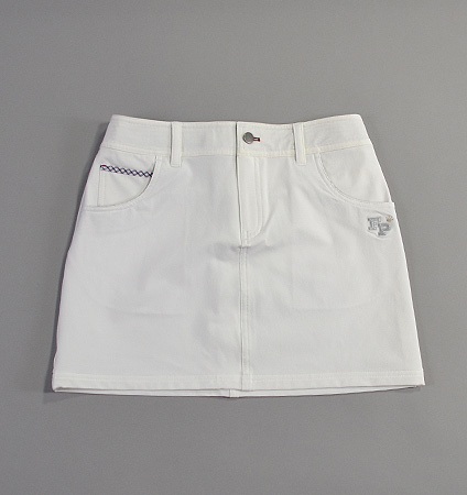 2017 Fairy Powder FP17-2200 Stretch Box Skirt White