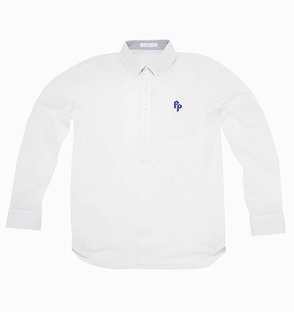 2018 Fairy Powder FP18-1100 Long Sleeve Pique Polo White