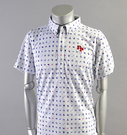 2018 Fairy Powder FP18-1109 FP Icon Print Polo Navy