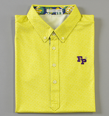 Fairy Powder FP19-1105 FP Shadow Logo Polo Yellow