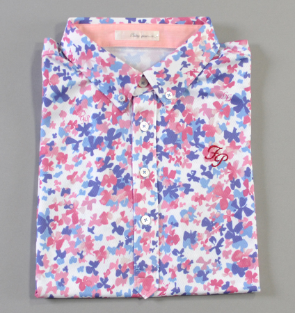 Fairy Powder FP19-1104 Print  Polo Pink
