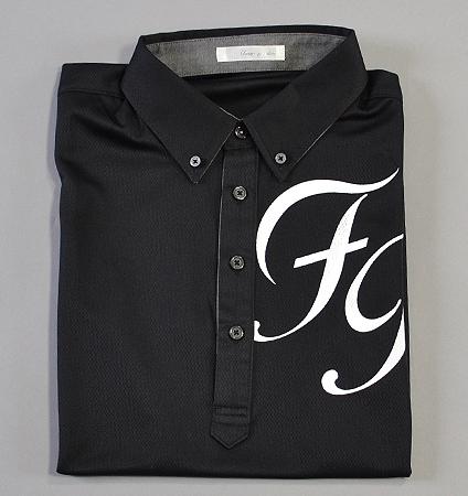 Fairy Powder FP19-1115 FP Big Logo Polo Black