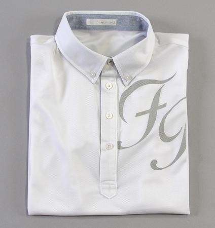 Fairy Powder FP19-1115 FP Big Logo Polo White/Gray