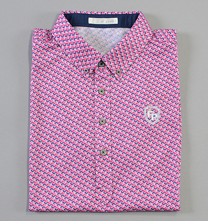 Fairy Powder FP19-1109 Print Polo Pink