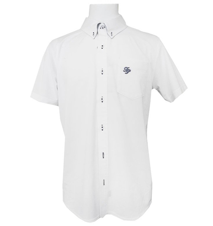 Fairy Powder FP21-1119 Front Button BD Shirts White