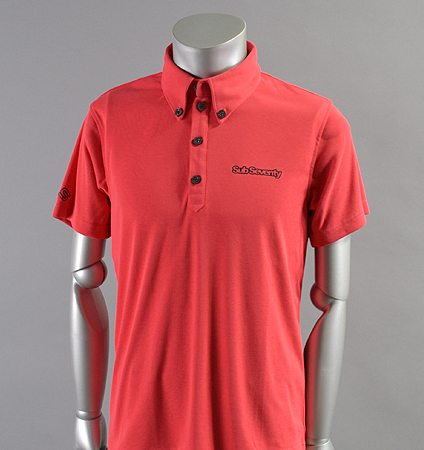 2018 SubSeventy AS10100 Basic Logo Polo Red