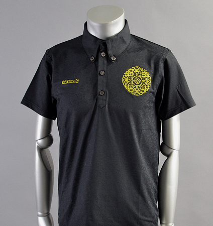 2018 SubSeventy AS10102 Monogram Polo Black