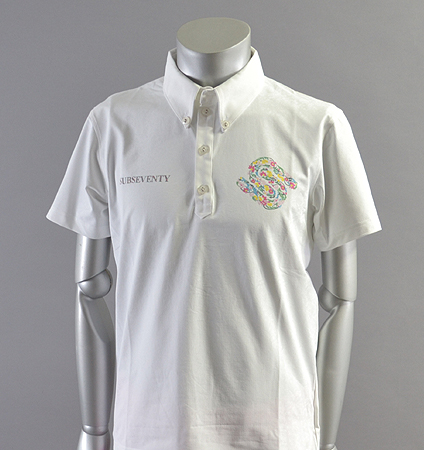 2018 SubSeventy AS10105 Flower Logo Polo White