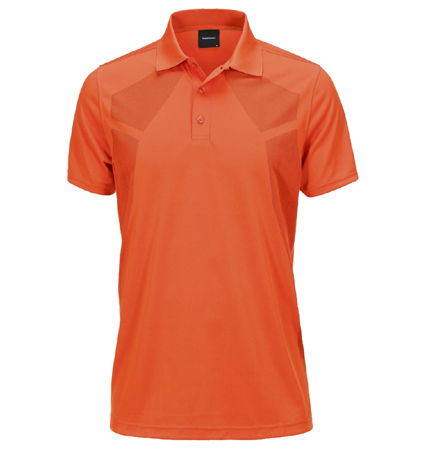 2018 PeakPerformance Map Polo Orange Flow