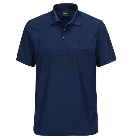 PeakPerformance Spin Polo Salute Blue