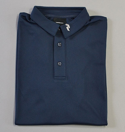 PeakPerformance Panmore Crest Polo Blue Shadow