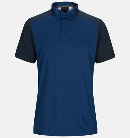 2020 PeakPerformance Panmore BD Polo Cimmerian Blue