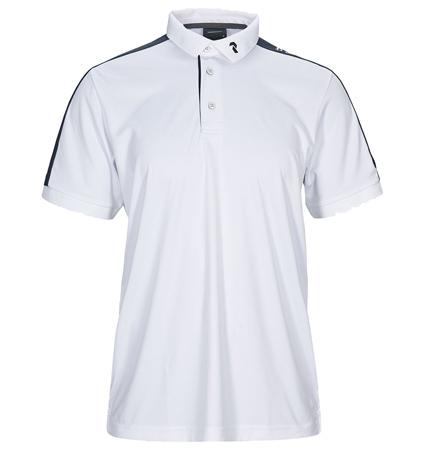 2020 PeakPerformance Player Polo Short Sleeve White