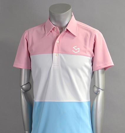 SQAIRZ SQSHB-07  3 Panel Shirts Pink/White/Sax