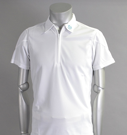 SQAIRZ SQSHB-011 Zip Shirts White