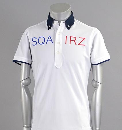 SQAIRZ SQSHB-012  Cleric Shirts White/Navy
