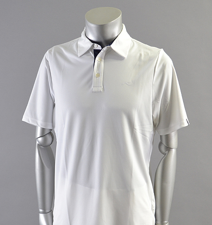 KJUS MEN SILAS POLO FRONT LOGO White