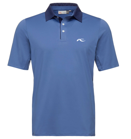 KJUS MEN JP SUPERLOAD POLO  Sax Blue/Night Blue