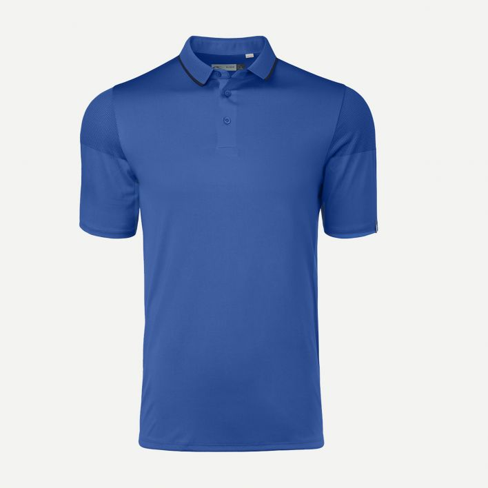 KJUS MEN X-STRETCH LIONEL POLO S/S STRONG BLUE