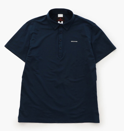 BRIEFING ACTIVE BD POLO SHIRTS NAVY