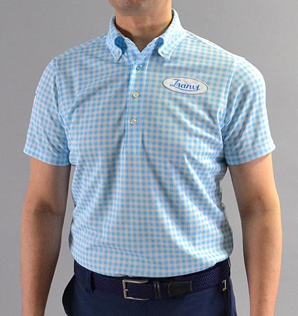 Tranvi TRSHB-025 BD Original Check Shirts Sax