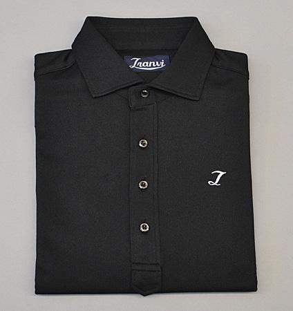 Tranvi TRSHB-036 Semi-wide Collar Stretch Shirts Black