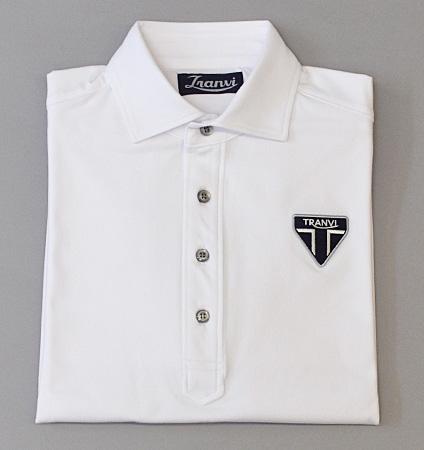 Tranvi TRSHB-040 Primeflex Semi-wide Collar Shirts White